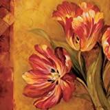 Pandoras Bouquet II by Gladding, Pamela - Fine Art Print on CANVAS : 12 x 12 Inches