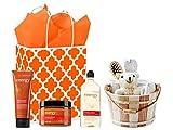 Spa Day Getaway Gift Set - Bath & Body Works Energy Orange Ginger