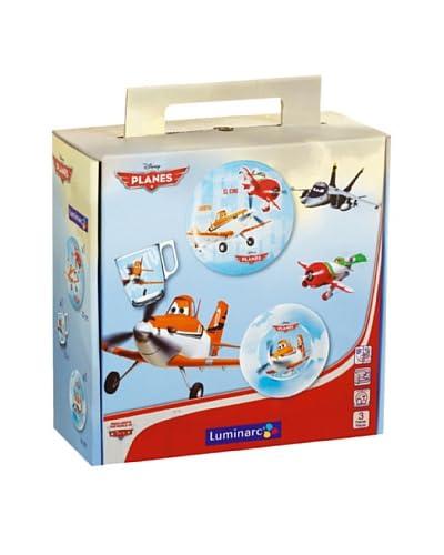 Luminarc Vajilla Infantil Disney 3 Piezas Moldelo Planes