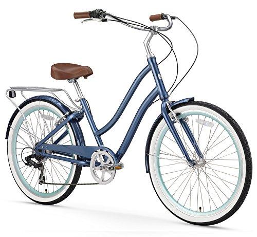 sixthreezero-EVRYjourney-Womens-26-Inch-7-Speed-Step-Through-Touring-Hybrid-Bicycle