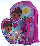 Disney Junior Doc McStuffins 15 Backpack with Lunch Bag