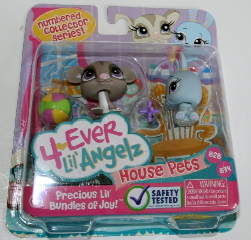 Bratz 4 Ever Lil' Angelz *House Pets* #828 & 834 by MGA - 1