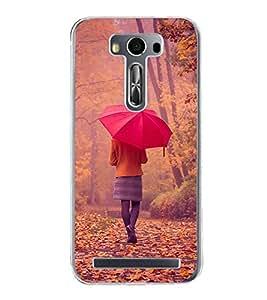 Nature Walk 2D Hard Polycarbonate Designer Back Case Cover for Asus Zenfone 2 Laser ZE550KL (5.5 INCHES)