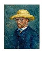 Especial Arte Lienzo Portret van Theo Van Gogh  Multicolor