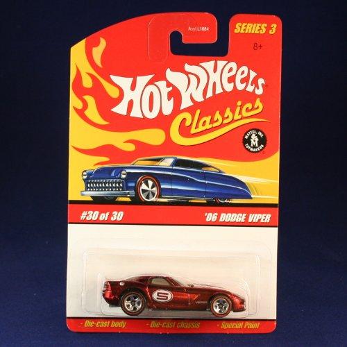 '06 DODGE VIPER (RED) 2006 Hot Wheels Classics 1:64 Scale SERIES 3 Die Cast Vehicle