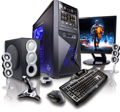 Gamer PC Computer Quad-Core Intel Core i5 3570K 4x 3.40 GHz (Turbo Modus bis 3800 MHz) | AMD HD7870 2 GB DDR5 | Windows 7 Home 64 | ASUS P8B75-M LX | 1000GB SATA III Festplatte | 16 GB RAM 1333 MHz | DVD Brenner 22x | 4 x USB3.0 | 4 x USB2.0 | 6-Kanal High Definition Audio | Gigabit LAN | 530W Thermaltake Hamburg Netzteil (80+ zertifiziert) | Gaming PC