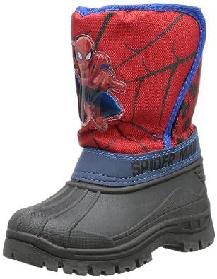 Spiderman boys kids snowboot booties SP328071, Jungen Schneestiefel, Mehrfarbig (C.BLUE/RED/C.BLUE), EU 28