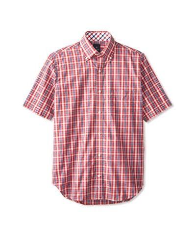 TailorByrd Men's Cocoa Short Sleeve Sportshirt