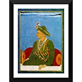 Tallenge - Official Portrait Of Tipu Sultan - The Tiger Of Mysore - Vintage Indian Art Collection - Ready To Hang...