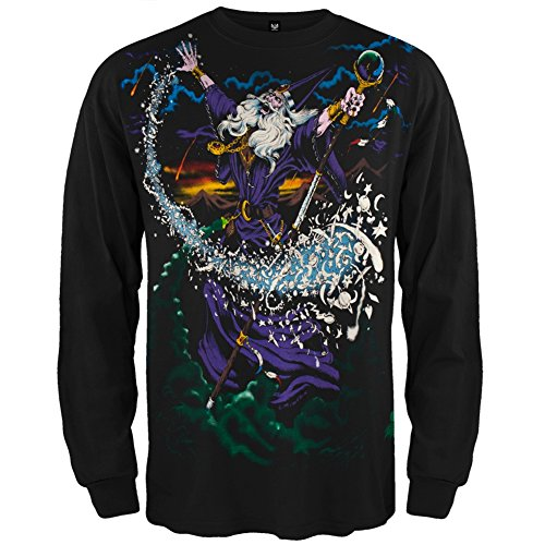 Mens Wizard Long Sleeve Sweatshirt