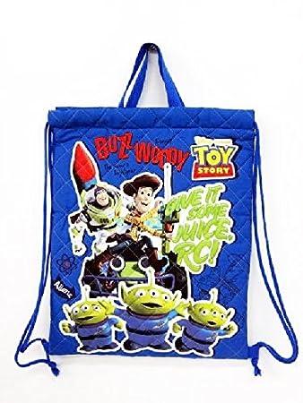 Disney Pixar TOY STORY Toy Story quilt knapsack buzz woody Little Green Men