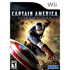 Captain America: Super Soldier Video Game for Nintendo Wii