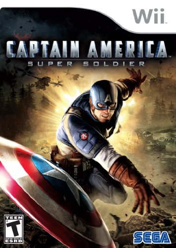 Captain America: Super Soldier - Nintendo Wii back-320665