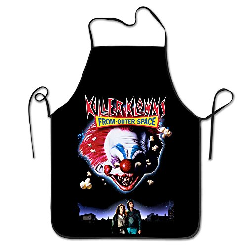 [Adults Killer Klowns From Outer Space Aprons Kitchen Apron For Home Use] (Bacon Suit Adult Costumes)