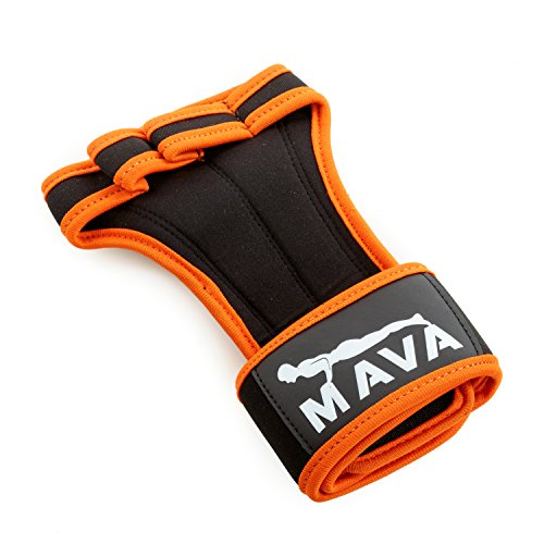 Mava Fitness Gloves: Mava Gloves For Powerlifting With Integrated Wrist Support