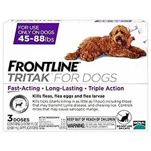Frontline Tritak 3pk for Large Dogs - 45-88 lbs