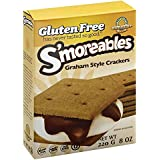 Kinnikinnick S'moreable Graham Cracker 8 OZ (Pack of 3)