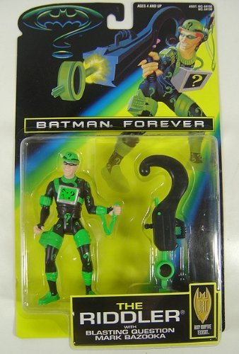 Batman Forever Movie:the Riddler Blastin Question Mark Bazooka