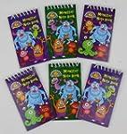 Pack of 12 Monster Mini Spiral Notebo...