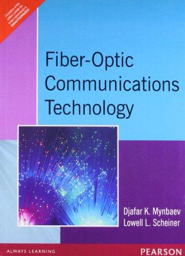 Fibre-Optics Communications Technology, 1e