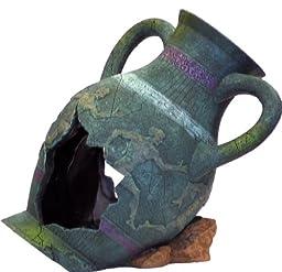 Blue Ribbon EE-822 Exotic Environments Greek Vase Aquarium Ornament