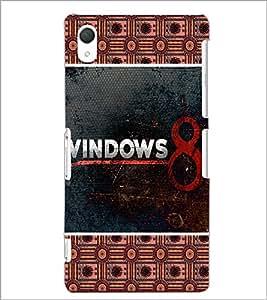 PrintDhaba Windows Logo D-5683 Back Case Cover for SONY XPERIA Z2 (Multi-Coloured)