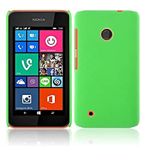 TrilMil Matte Rubberized Finish Hard Case for Nokia Lumia 530