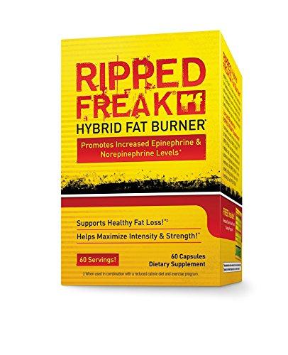 PharmaFreak Ripped Freak hybrides Fat Burner, 60 capsules
