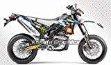 カンフー グラフィック(Kungfu Graphics) ヤマハ 2008-2016 Yamaha WR250R WR250X 専用 グラフィックキット コンプリートセット