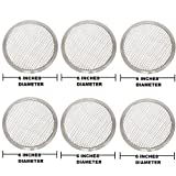 FOR COMMERCIAL USE OF HOTELS AND RESTAURANTS 6 Inches Aluminium Pizza Screen- Set Of 6 Pieces