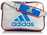 [アディダス] adidas エナメル ショルダーM2 Z7678 F92333 (パールメット S14/バヒアブルー S14/ハイレス レッド F13)