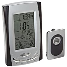 H-B Instrument® DURAC® 615000300 Weather Station; Dual Zone, Animation Forecast, 433MHz RF Remote Sensor