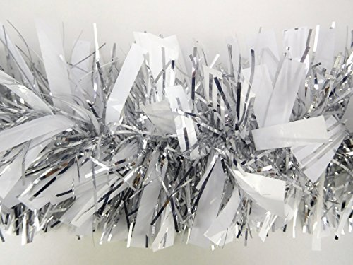 matt-white-silver-chunky-fine-christmas-tinsel-3-metre-length-christmas-decoration