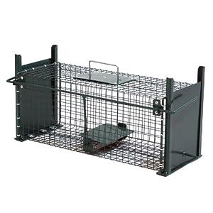 50cm Kaninchenfalle Rattenfalle mit zwei Eingängen 5006