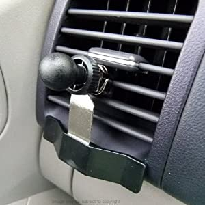 Buybits fixation grille de ventilation pour berceau gps - Support gps garmin grille ventilation ...