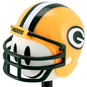 Green Bay Packers Football Helmet Antenna Topper by Rico