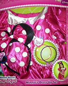 Minnie Mouse Bow-tique ~ Minnie's Dress up Set (Fits Sizes 4 - 6x)