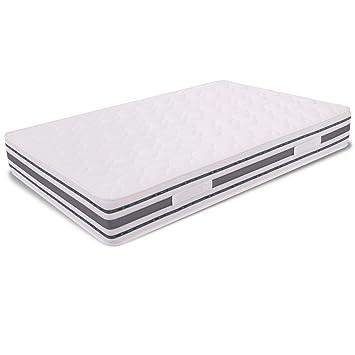 Matratze Taschenfederkern und Memory Foam Eineinhalb Größe 120x 200Höhe 26cm Orthopädisch Venere