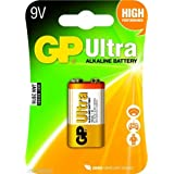 10 Pcs Of Godrej GP 9V Ultra Alkaline Cell Battery