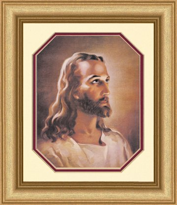 Head of Christ Framed Print