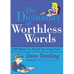 Image: Cover of The Dictionary of Worthless Words