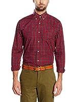 Cortefiel Camisa Hombre (Rojo)
