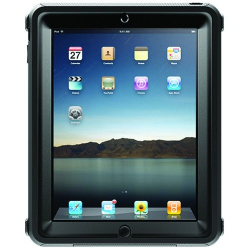 OtterBox Defender Case for Apple iPad - Black