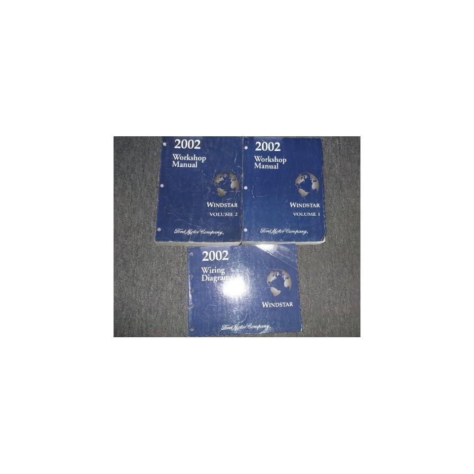 2002 Ford Windstar MINI VAN Service Shop Repair Manual Set OEM FACTORY