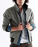 フェイクレザーライダースジャケット ライダース レザージャケット レザー メンズ Sサイズ グレー