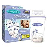 #3: Lansinoh Breast Milk Storage Bags 50-Count