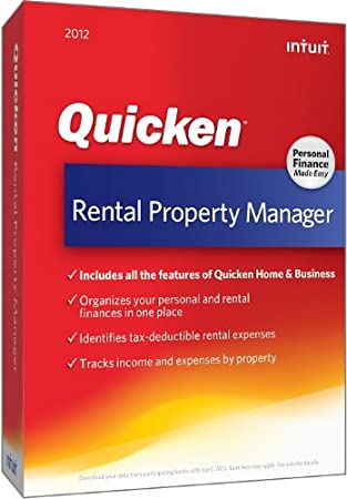 Quicken Rental Property Manager 2012 [OLD VERSION]