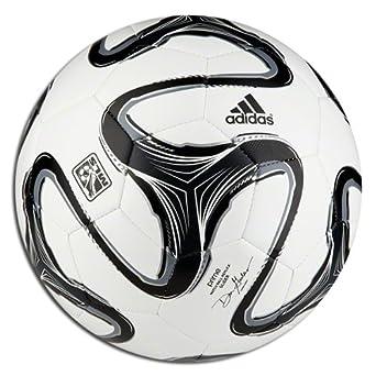 Buy adidas MLS 2014 Glider Soccer Ball (White, Black, Grey) Size 4 by adidas