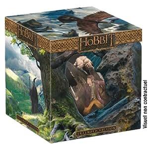 Le Hobbit : Un voyage inattendu - Version Longue - Coffret limité avec statue [Version longue + Statue collector Bilbo & Gollum - Blu-ray 3D + Blu-ray + DVD + Copie digitale - Édition Limitée]