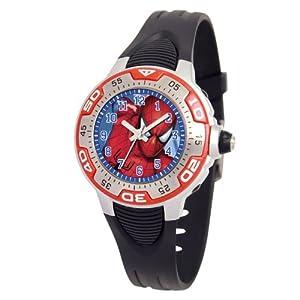 Marvel Comics Kids' MA0108-D535-Red Marvel Spider-Man Spectrum Watch